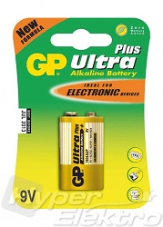 Baterie GP Ultra Plus Alkaline 9V blistr