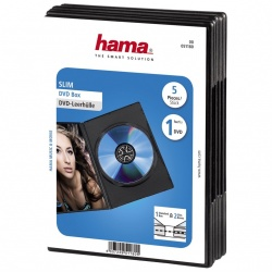 DVD Slim Box 5, Black