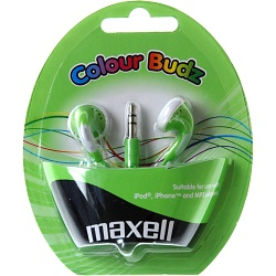 MAXELL 303361 COLOUR BUDZ GREEN   SLUCH.