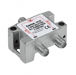 SAT Distributor, 2 Way, Fully Shielded