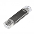 "FlashPen ""Laeta Twin"" 16GB 10MB/s, šedá - micro USB / USB"