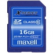 MAXELL SDHC 16GB CL10 X-SERIES    854423