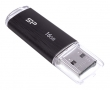 Silicon Power Ultima U02 Black 16GB USB 2.0 (SP016GBUF2U02V1K)