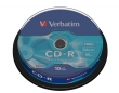 Verbatim CD-R 700MB 52x Extra protection, 10ks - spindle